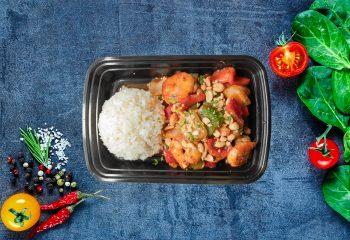 Kung Pow Shrimp