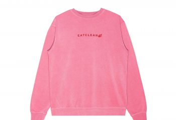 Unisex Pink Pigment Crew Neck